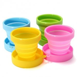 Collapsible Sterilizing Cup for Menstrual Cups